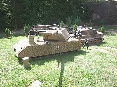 Radio Controlled Model Tanks